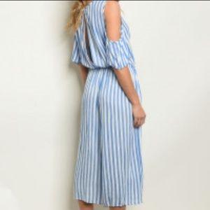Pants - Blue Striped Jumper